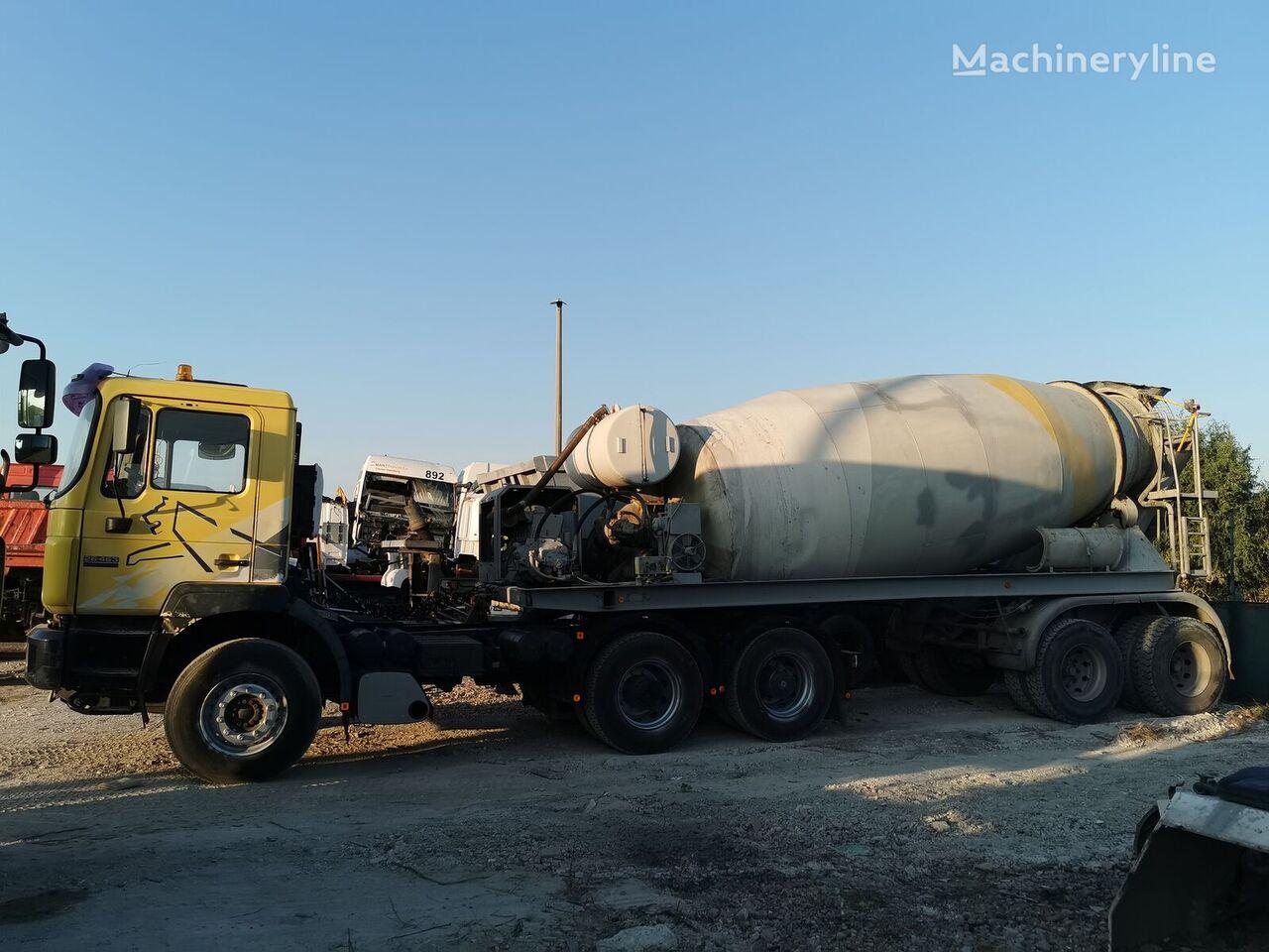 STETTER concrete mixer semi-trailer