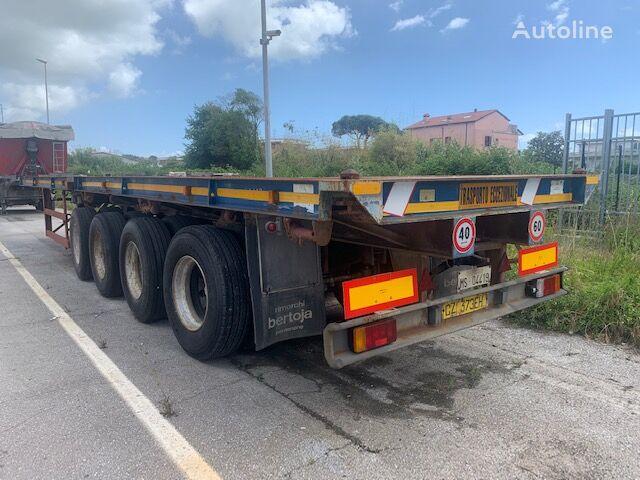 BERTOJA S64E2 container chassis semi-trailer