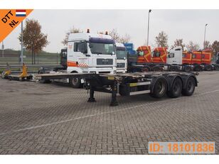 D-TEC Polyvalent chassis 20-30-40-45 ft container chassis semi-trailer