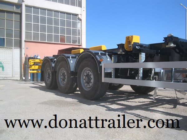 new DONAT Container Chassis Semitrailer - Extendable container chassis semi-trailer