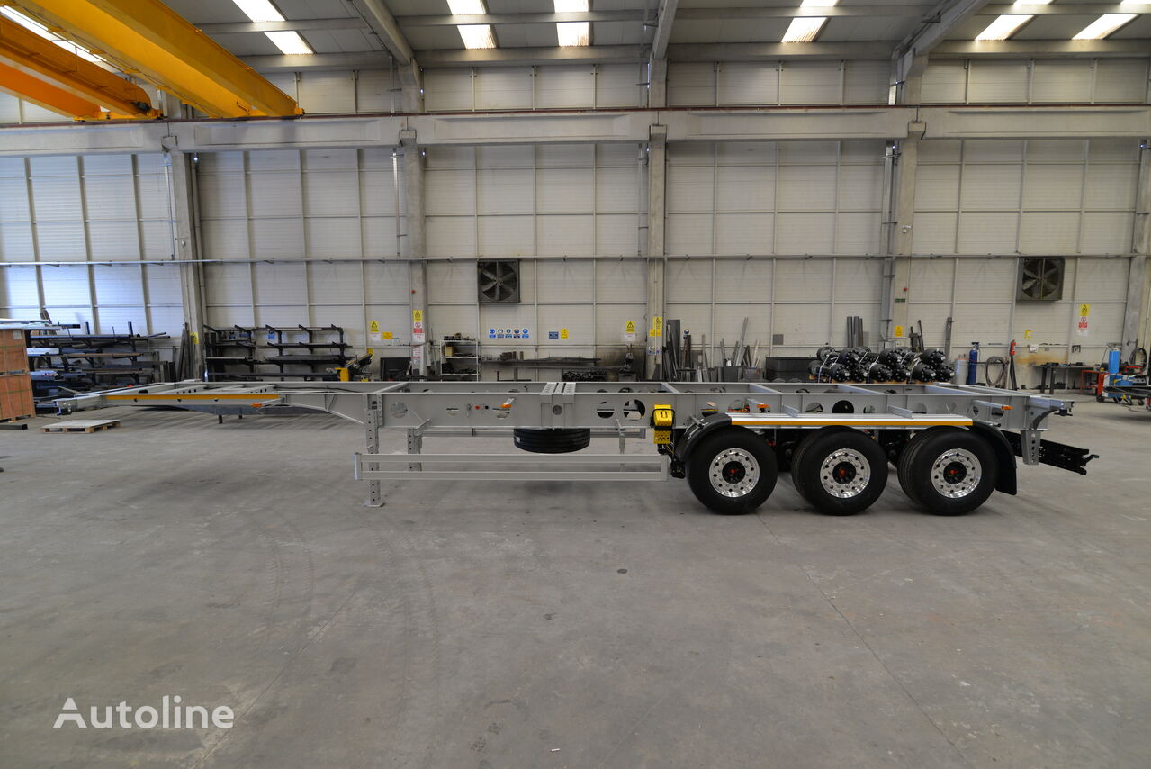 new EROGLU Light Container  container chassis semi-trailer