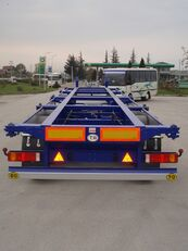 new GEWOLF 40 - 45 Ft Container Carrier  container chassis semi-trailer