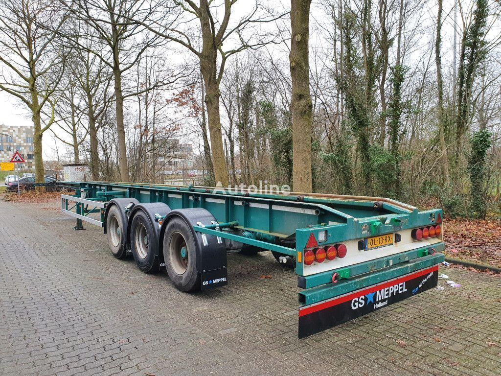 GS Meppel OC-120-2700 container chassis semi-trailer