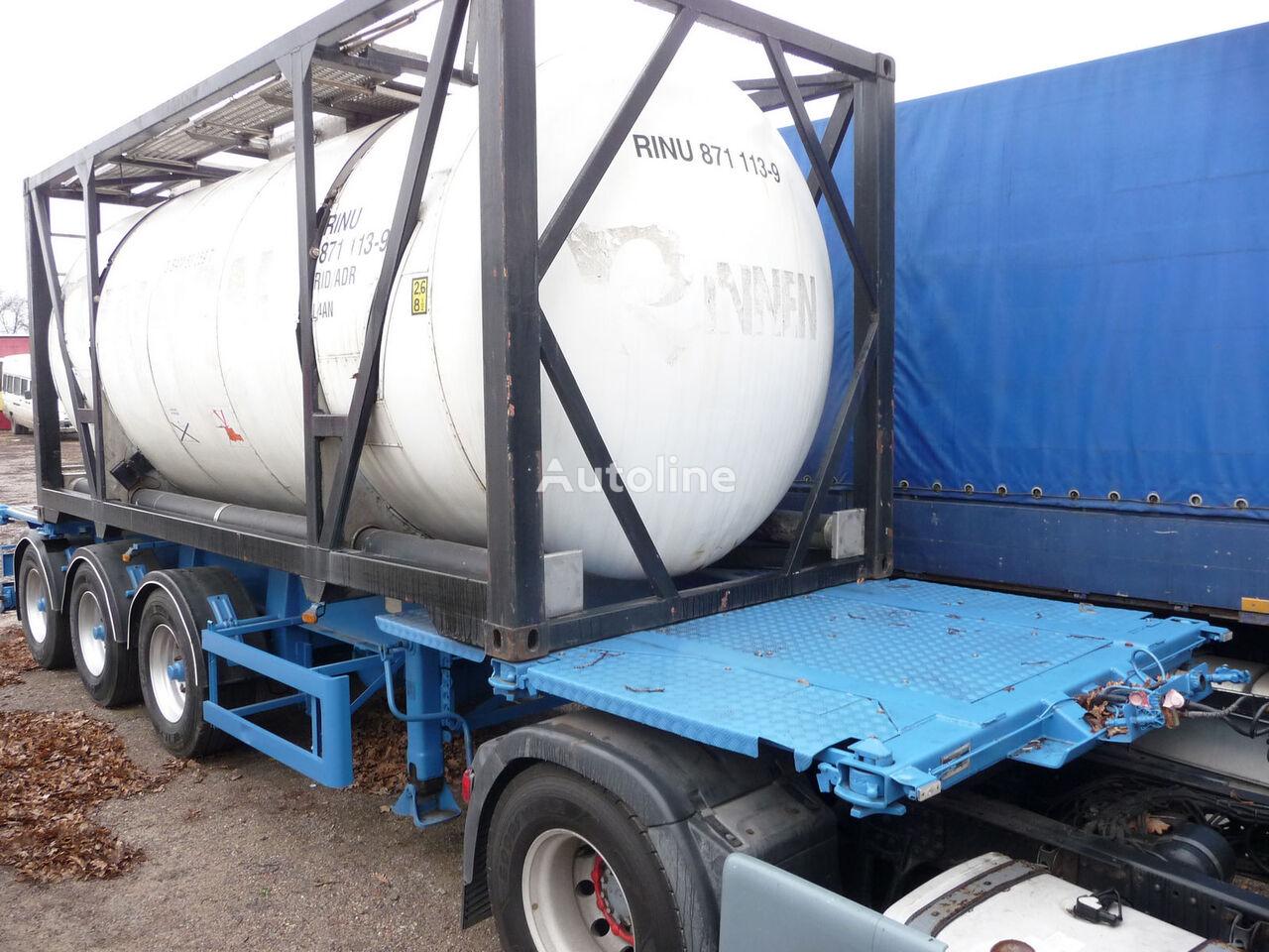 HENDRICKS container chassis semi-trailer