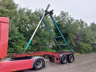 KRONE KIPPCHASSIS 20FT TIPPER STEEL BLATT HU 6-21 container chassis semi-trailer
