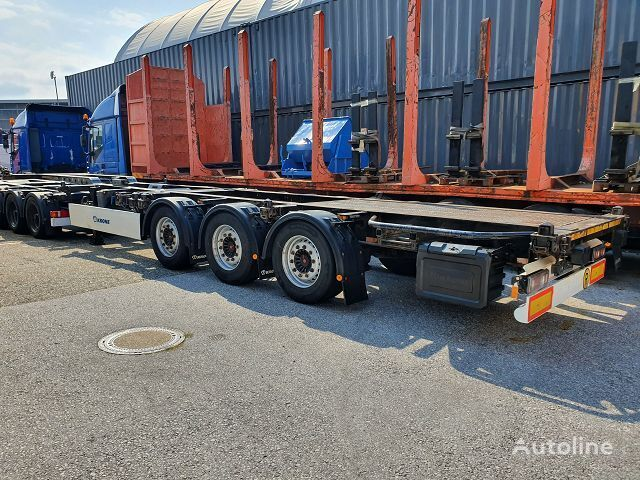 KRONE SD DA08LSF container chassis semi-trailer