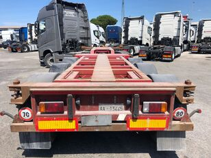 RENDERS TRAILERS NV RPS 10 portacontainer allungabile container chassis semi-trailer