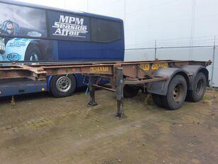 VAN HOOL 2 Axles ROR steel suspension 20ft container chassis semi-trailer
