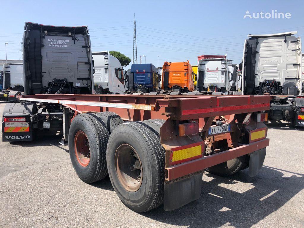 VIBERTI Ralletta portacontainer 20' container chassis semi-trailer