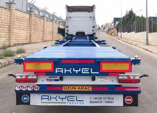 new AKYEL TREYLER hc Container semi trailer  container chassis semi-trailer