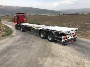new ALAMEN container chassis semi-trailer