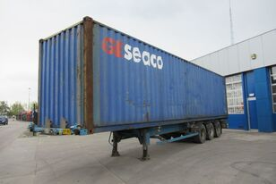 ASCA Container Chassis + 40FT highcube / ROR + DRUM container chassis semi-trailer