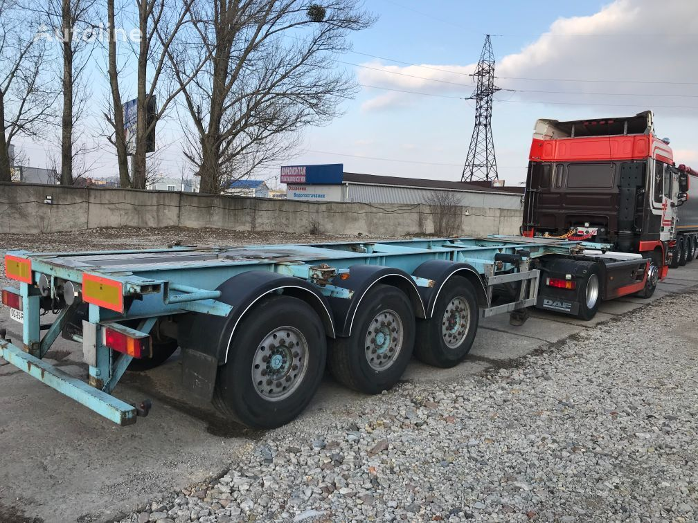 BURG SAF INTRAX 20/30 ft ADR container chassis semi-trailer
