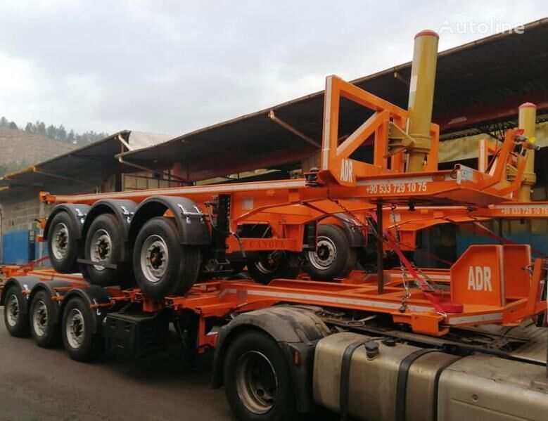 new CANGÜLLER TREYLER Container Carrier container chassis semi-trailer