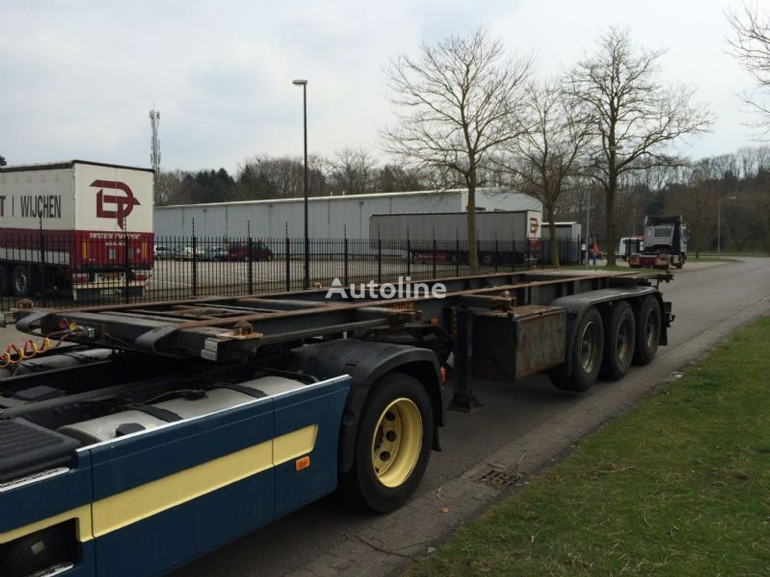CONTAR container container chassis semi-trailer