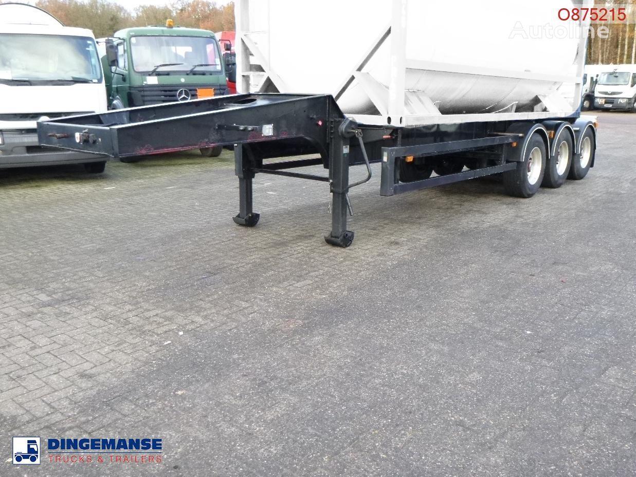 CRANE FRUEHAUF 3-axle tank container trailer 20 ft container chassis semi-trailer