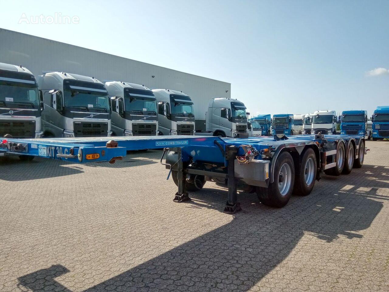 D-TEC combi container chassis container chassis semi-trailer