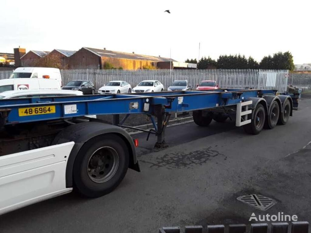 DENNISON Chassis container chassis semi-trailer