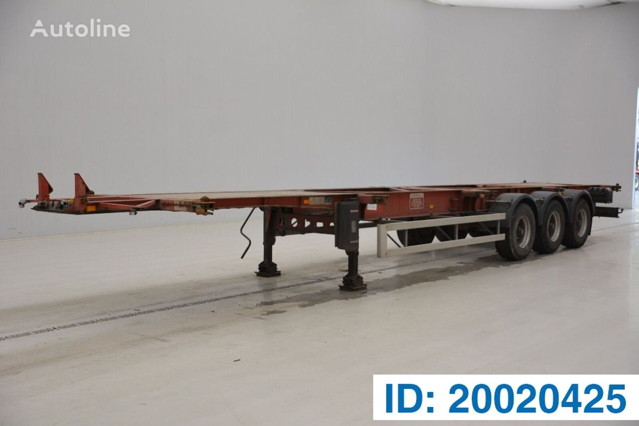 DESOT Skelet 20-30-40-45 ft container chassis semi-trailer