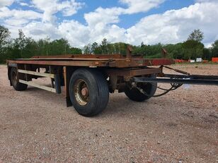 EGGERS 2 ASSEN container chassis semi-trailer