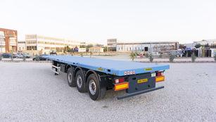 new EMIRSAN 12 locks Flatbed Trailer | Container Carrier Semi Trailer 2020  container chassis semi-trailer