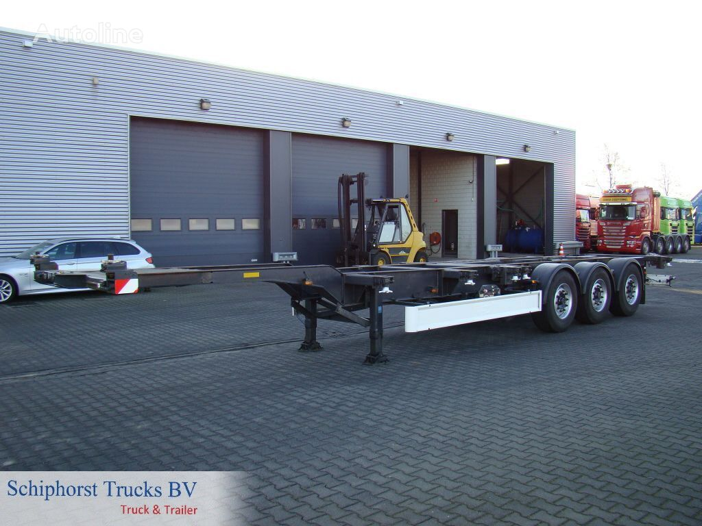 FLIEGL 3 axle container trailer container chassis semi-trailer