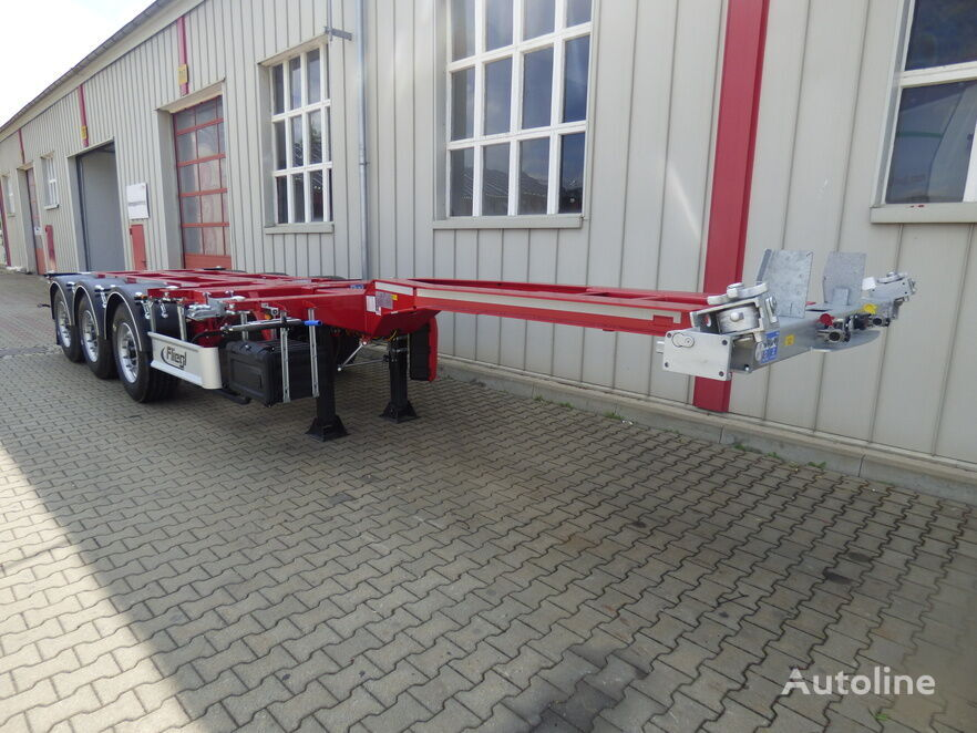 new FLIEGL SDS 380 V1 container chassis semi-trailer