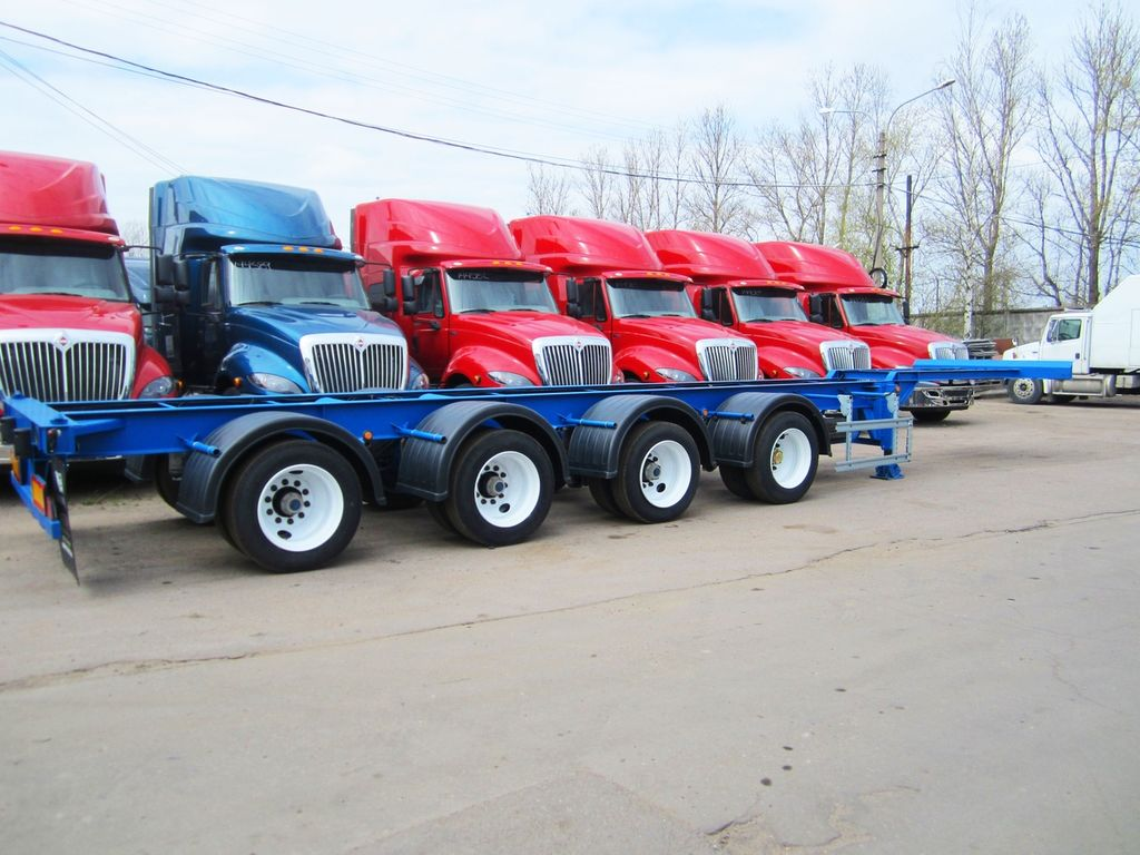 new GOODWILL 94480D container chassis semi-trailer