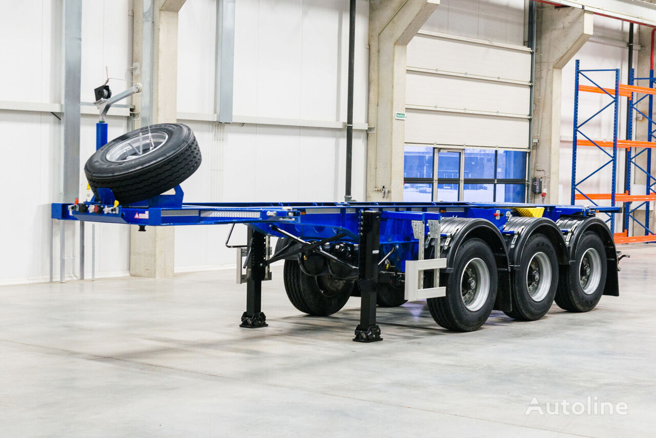 GRUNWALD GSC03 20FT container chassis semi-trailer