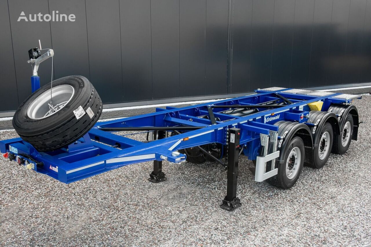 GRUNWALD GSC03 20FTT container chassis semi-trailer