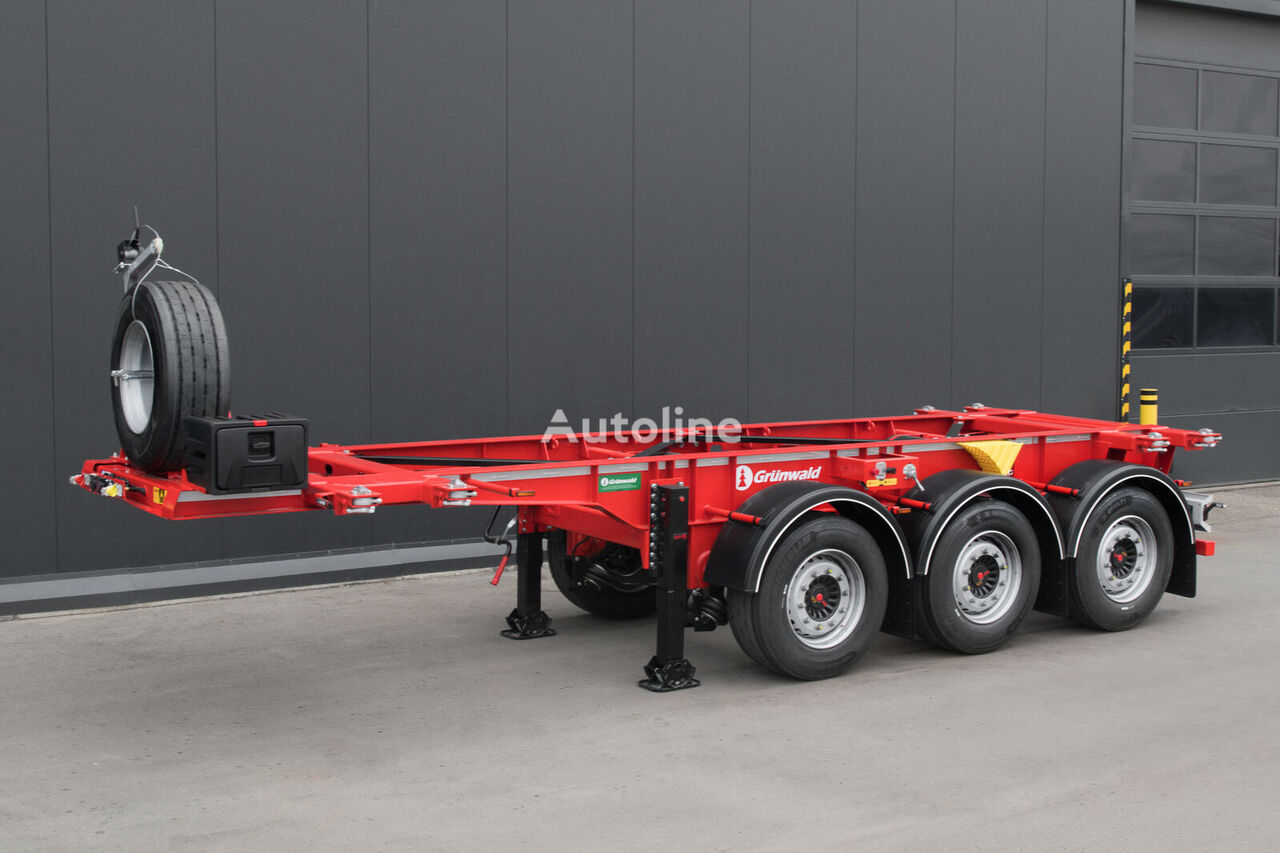 new GRUNWALD GSC03, 20ft container chassis semi-trailer