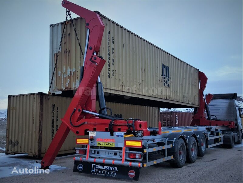 new GURLESENYIL Sidelifter container chassis semi-trailer
