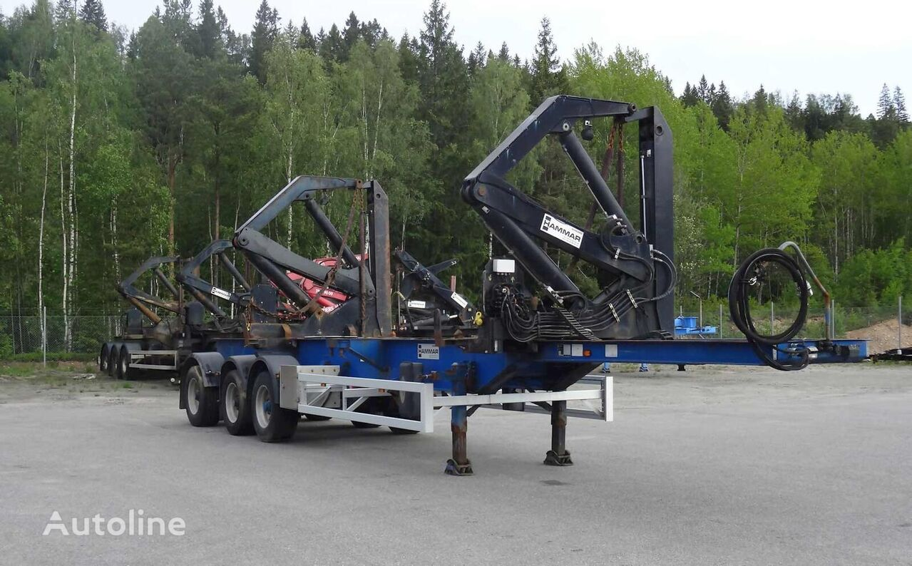 HAMMAR 160 S / 33 T container chassis semi-trailer
