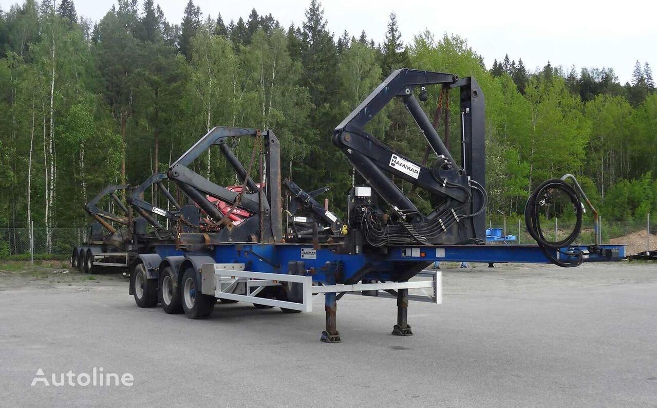 HAMMAR 160 S / 33 T / 20'-40' container chassis semi-trailer