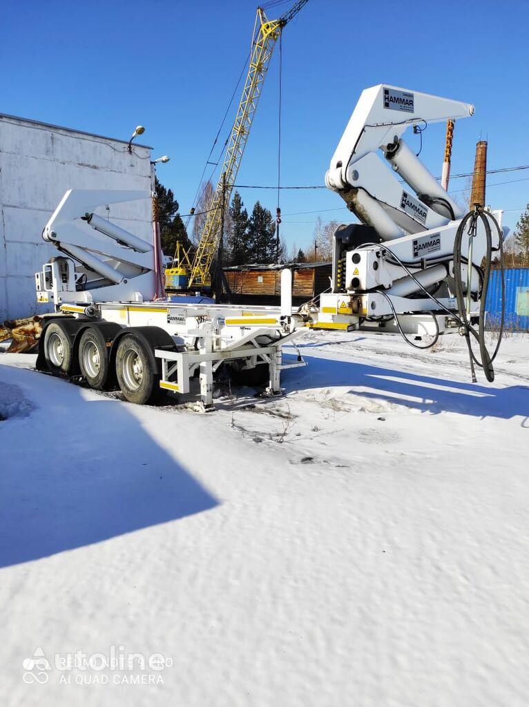 HAMMAR 195H container chassis semi-trailer