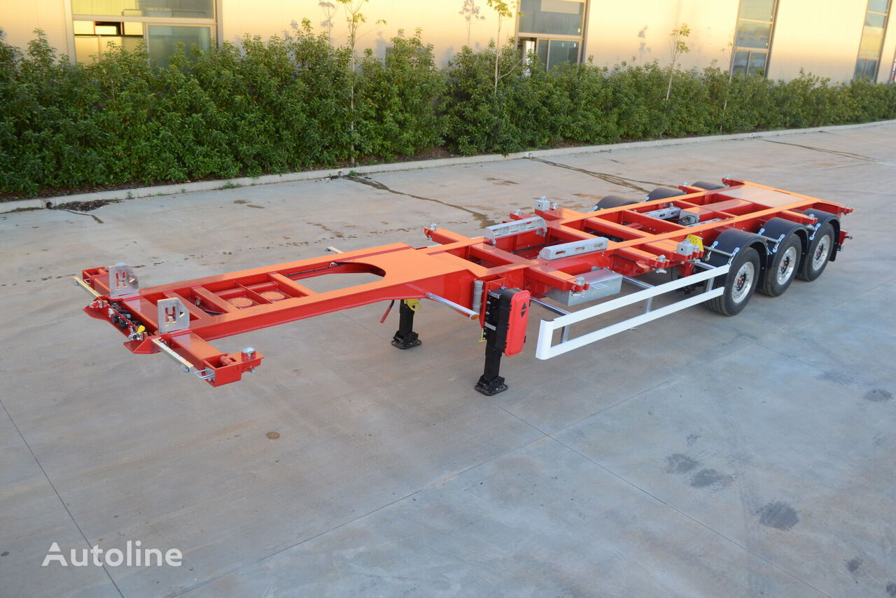 new HASTRAILER 2021 container chassis semi-trailer