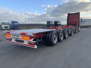 new KASSBOHRER Multicont container chassis semi-trailer