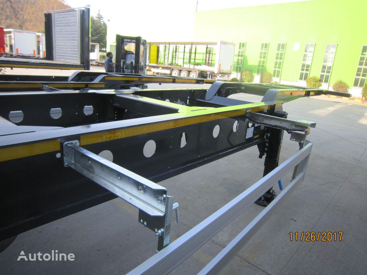 new KASSBOHRER SHG L container chassis semi-trailer