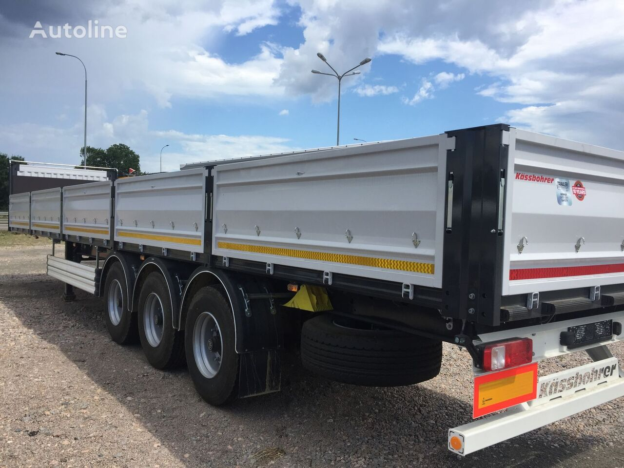 new KASSBOHRER SPS container chassis semi-trailer