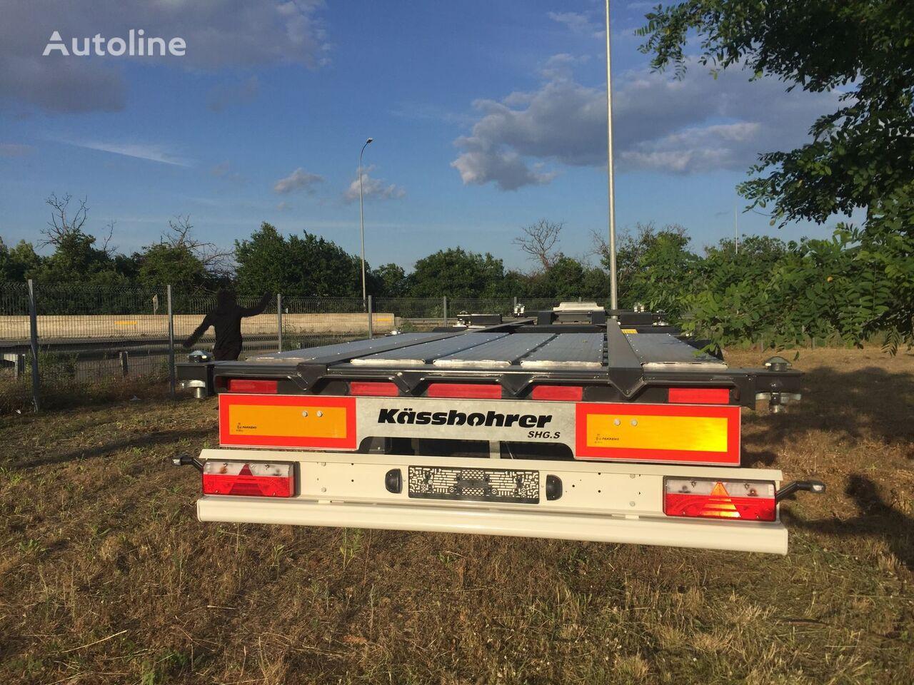 new KASSBOHRER K.SHG S/40-12/27 container chassis semi-trailer