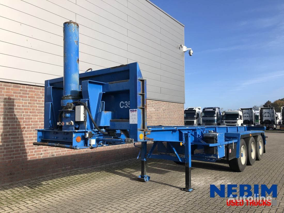 LAG O-3-37 KAB 30FT KIP CHASSIS - SELF SUPPORTING container chassis semi-trailer