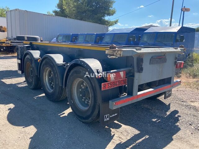 LECI TRAILER portacontedor de 20 container chassis semi-trailer