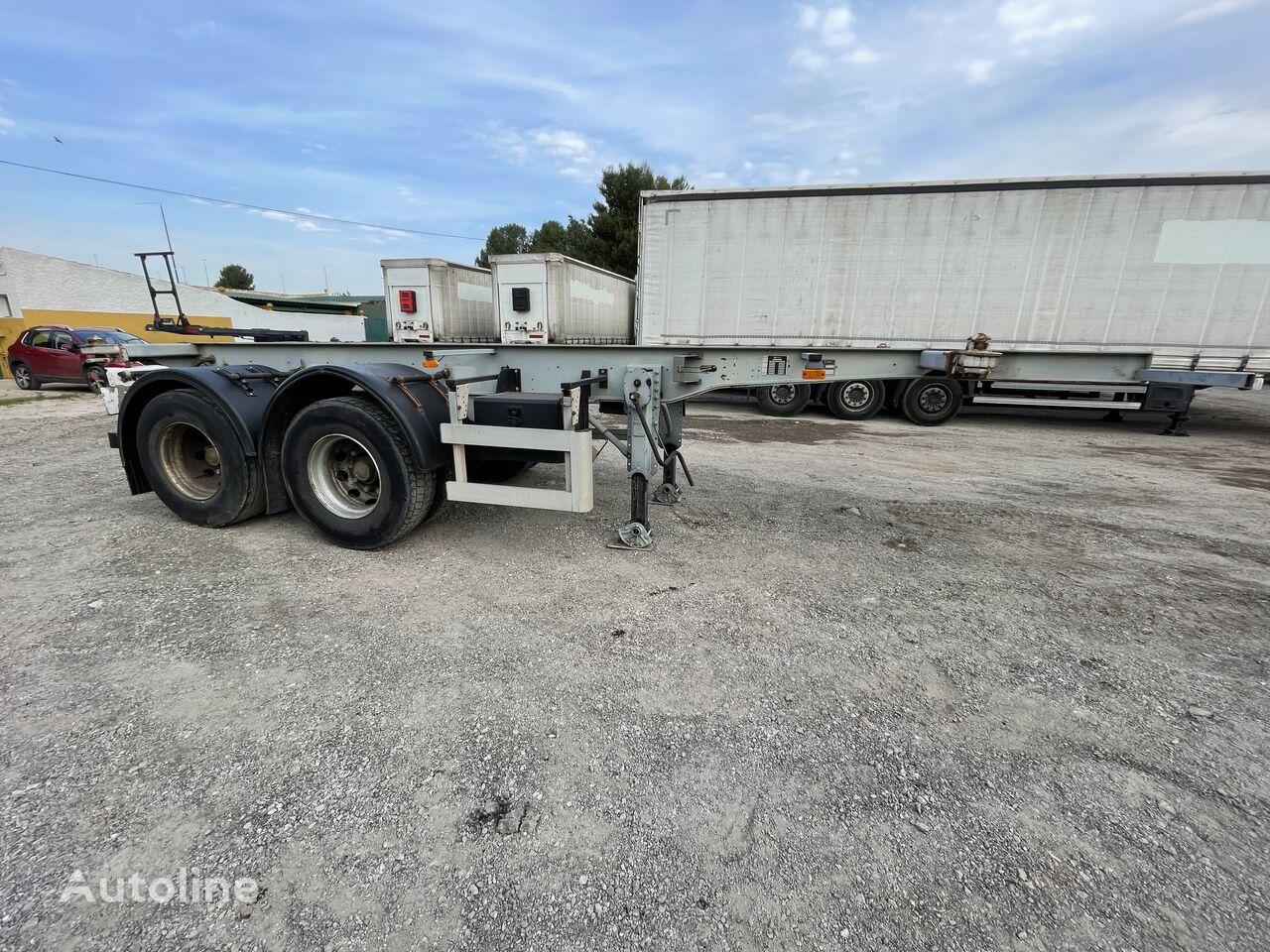 LECINENA Semirremolque Portacontenedor 20 container chassis semi-trailer