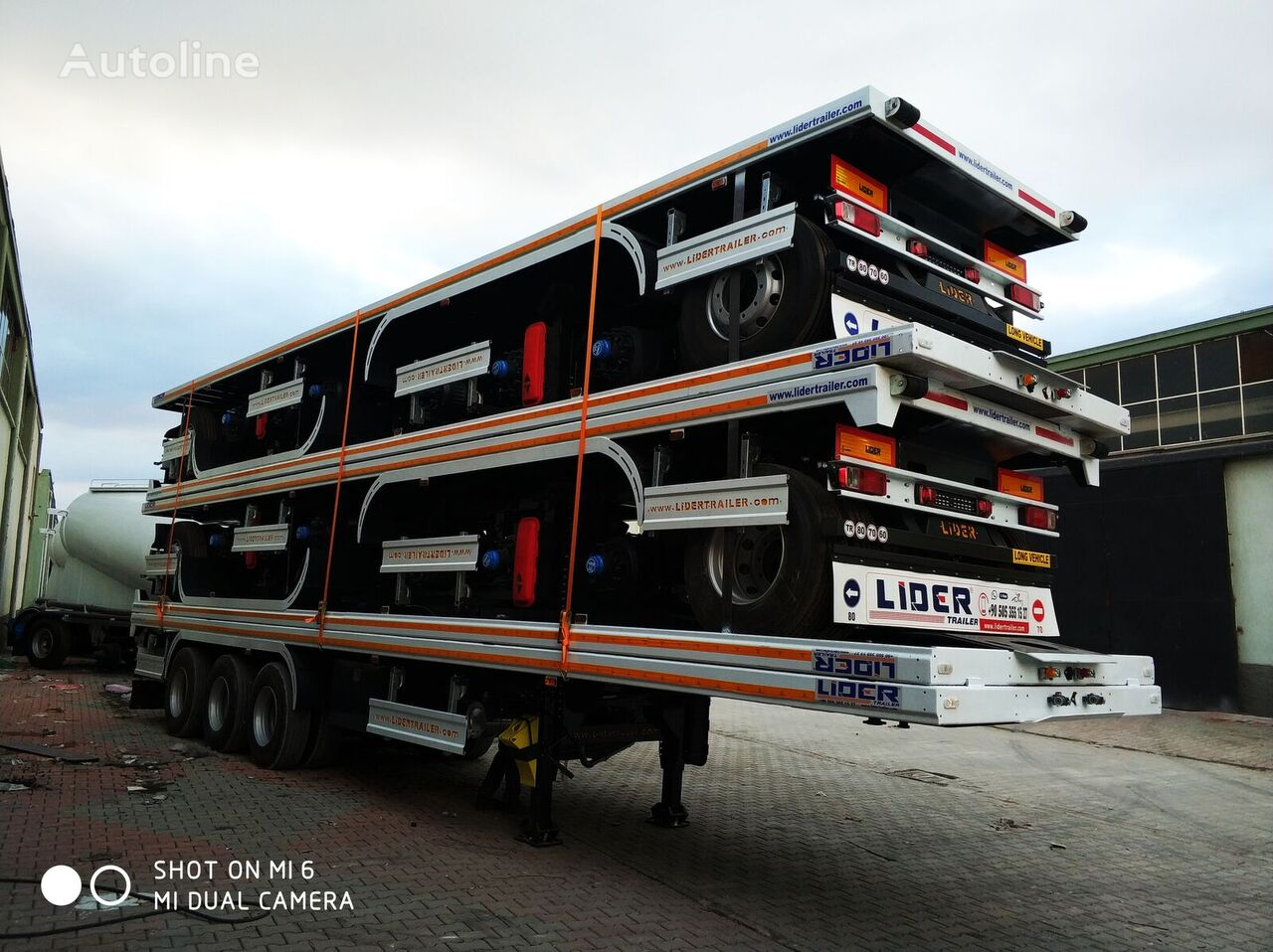 new LIDER NEW 2021 MODELS YEAR (MANUFACTURER COMPANY LIDER TRAILER container chassis semi-trailer