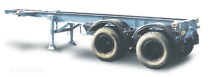 new MAZ 933060 container chassis semi-trailer