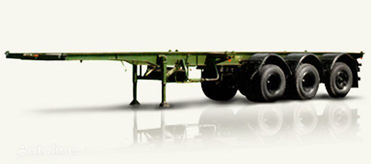 new MAZ 991900 container chassis semi-trailer