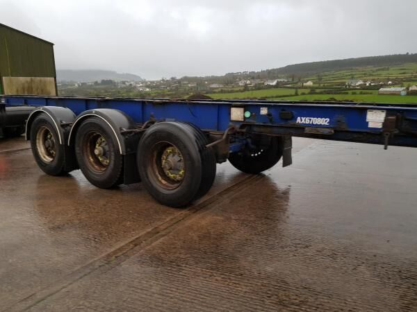 MONTRACON Trailers container chassis semi-trailer