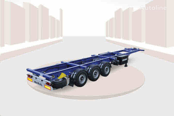new Maral Trailer CONTAINER CHASSIS  container chassis semi-trailer
