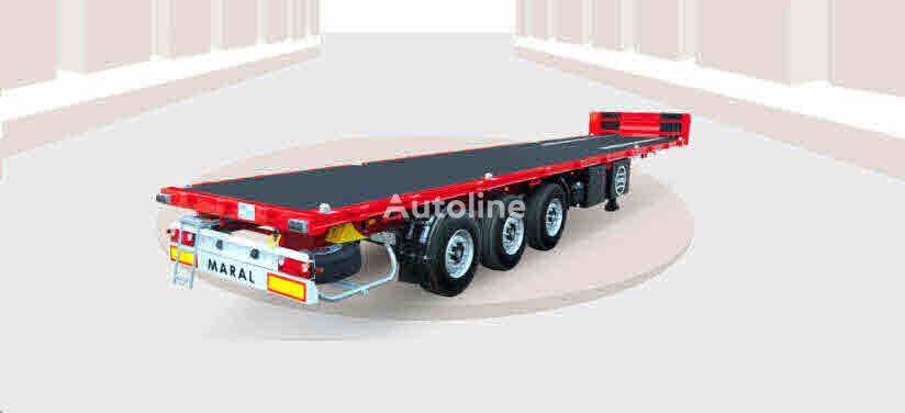 new Maral Trailer CONTAINER CHASSIS JAMBO container chassis semi-trailer