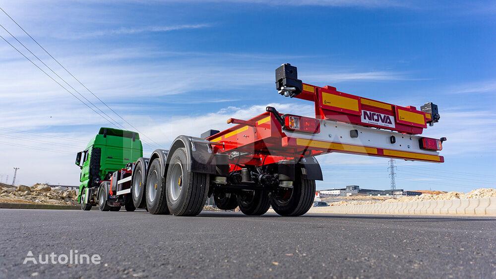 new NOVA NEW CONTAINER SEMI TRAILER PRODUCTION container chassis semi-trailer